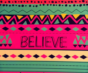 believe, wallpaper, and pink image