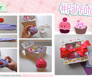 cup cake, gift, and diy image