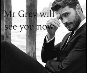 grey, 50shadesofgrey, and jamiedornan image