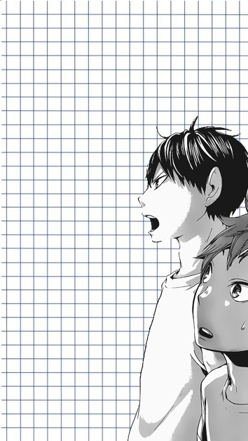 Kageyama And Hinata Iphone Wallpaper On We Heart It