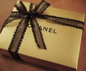 chanel, gift, and bow image