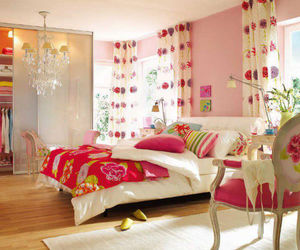 decor, bedroom, and decoration image