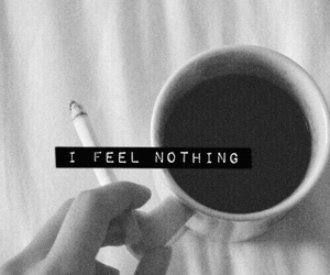 nothing, coffee, and cigarette image