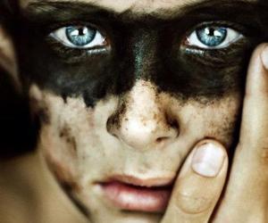 eyes, boy, and blue eyes image