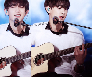 asian, Chen, and guitar image