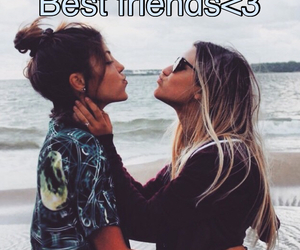 beach, Best, and best friends image