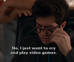 quotes, cry, and nat wolff image