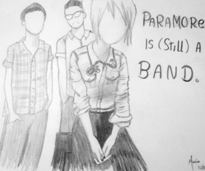 drawing, taylor york, and hayley williams image