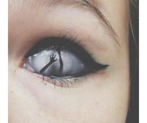 eye and demon image