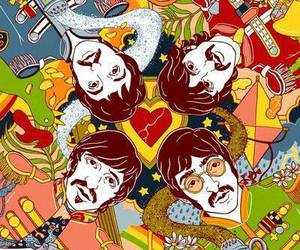 the beatles, beatles, and george harrison image