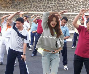 sooyoung streatching image