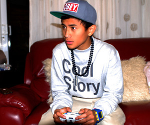 obey, cool story bro, and swag image