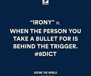 bullet, irony, and trigger image