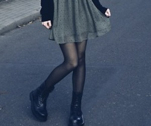 grunge, dress, and hipster image