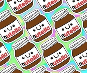 nutella, background, and wallpaper image
