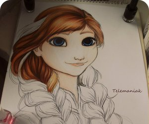 anna, awesome, and fan art image