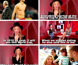 shakira, world cup, and love image