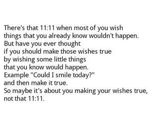 11:11, quote, and maybe image