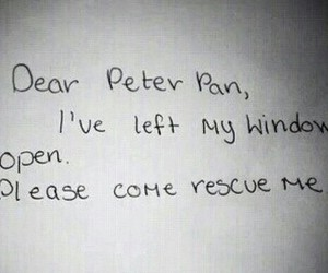 peter pan, rescue, and please image