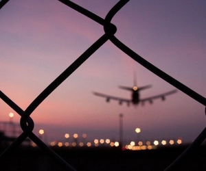 airport, lights, and new image