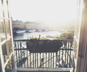 balcony, clean, and fresh image