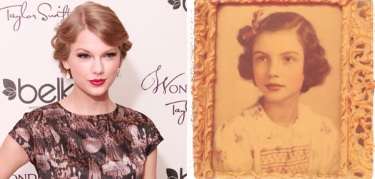 Taylor Swift S Ancestor Twin Her Grandmother Pop2it Zap2it