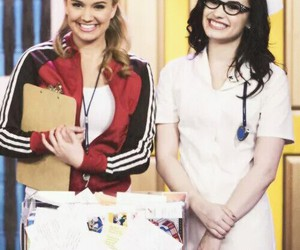 demi lovato, sonny, and swac image