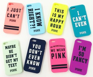 pink, iphone, and case image