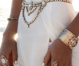 jewelry and white image
