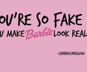 barbie, fake, and real image