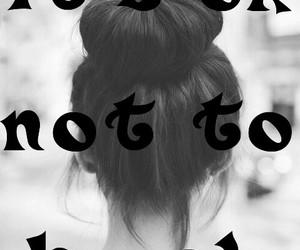 i'm fine, it's ok not to be ok, and sad image