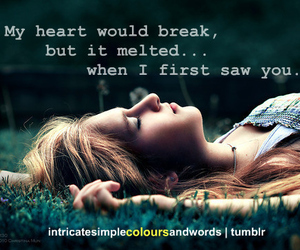 girl, quotes, and heart image