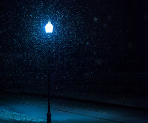 glow, light, and snow image