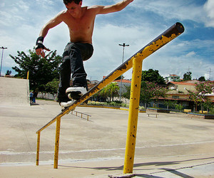 patins, rollerblade, and skate image