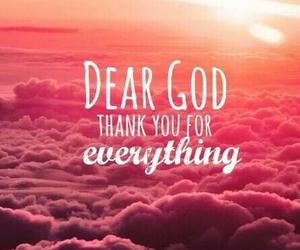 god, thanks, and everything image