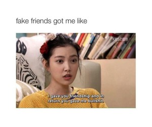 funny, lol, and fake friends image