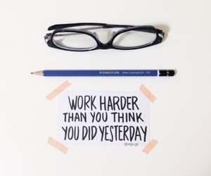 motivation, work hard, and quote image
