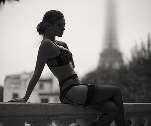 beauty, french, and sensuelle image