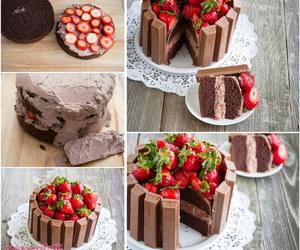 Çikolatalı tarifler, Çilekli tatlı tarifleri, and Çilekli tatlılar image
