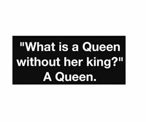 Queen, couple, and king image