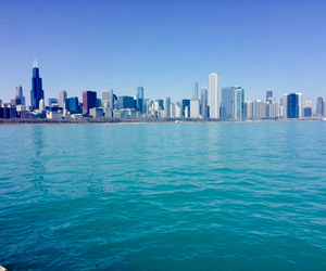 chicago, city, and sea image