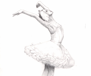 art, balette, and ballerina image