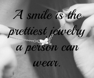 smile, jewelry, and pretty image