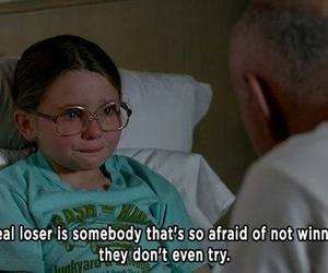 little miss sunshine, loser, and quote image