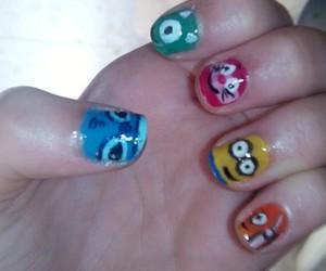 minions, nails, and nemo image