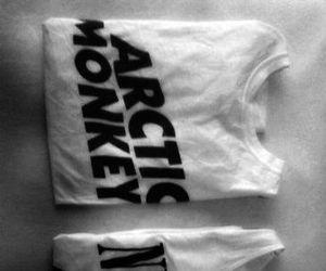arctic monkeys, band, and black and white image