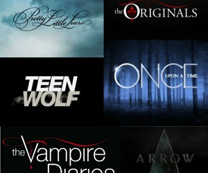 arrow, once upon a time, and the vampire diaries image