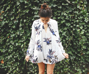 floaty, free people, and dress <3 image