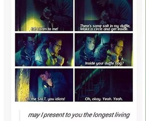 supernatural, ghostfacers, and funny image