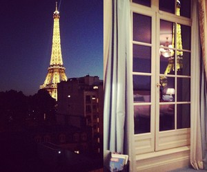 paris, lights, and night image